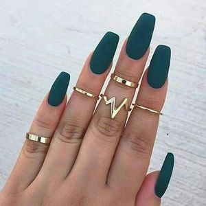 Jewelry - 5pc Midi Rings Above Knuckle Finger Band